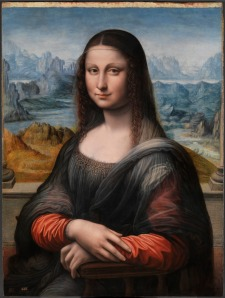 "Gioconda ""copiata"" (Madrid, attribuita ad autori diversi)"